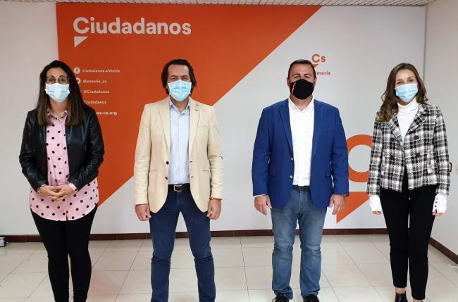 """Burgos: """"Reiniciamos Ciudadanos en Almería para recuperar el centro"""""""
