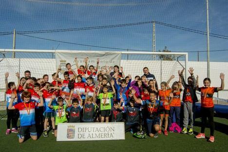 Carboneras celebró la primera prueba del Circuito Provincial de Duatlón de Menores