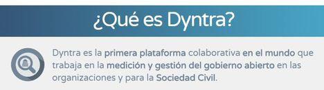 La plataforma de Transparencia Dyntra no pasa los niveles mínimos de transparencia