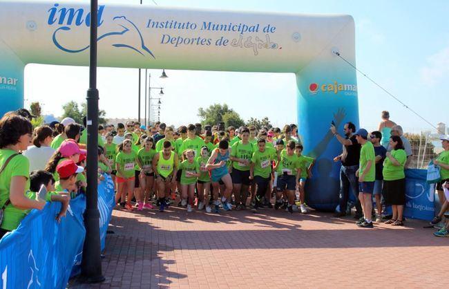 Almerimar acoge la 'V Carrera y Caminata Solidaria Fundación Francisco Navarrete'