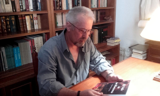 """Antonio Miguel Abellán: """"La conquista castellana cambió a peor la vida de los almerienses"""""""