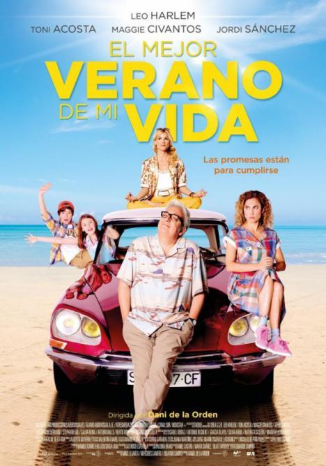 'El mejor verano de mi vida' en el Cine de Verano de Berja