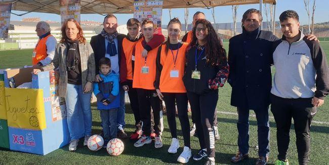 El CD El Ejido se suma al Trofeo de Fútbol 7 'Ningún niño sin juguete' de El Valle