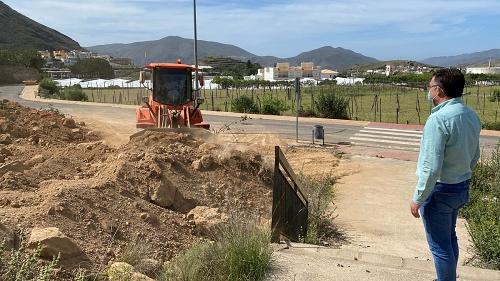 Comienzan en Berja las obras de la piscina municipal de Los Cerrillos