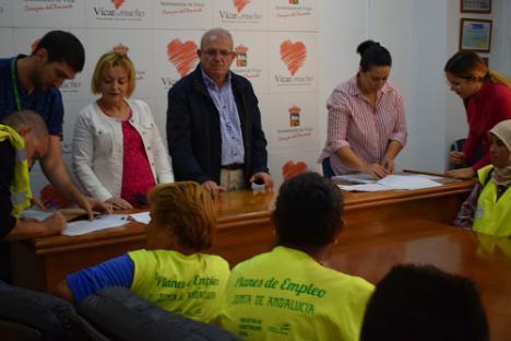 La Iniciativa AIRE Se Inicia En Vícar Con La Contratación De 18 Trabajadores