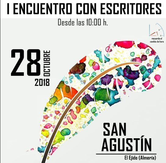 San Agustín acoge este domingo su I Encuentro con Escritores de toda la provincia