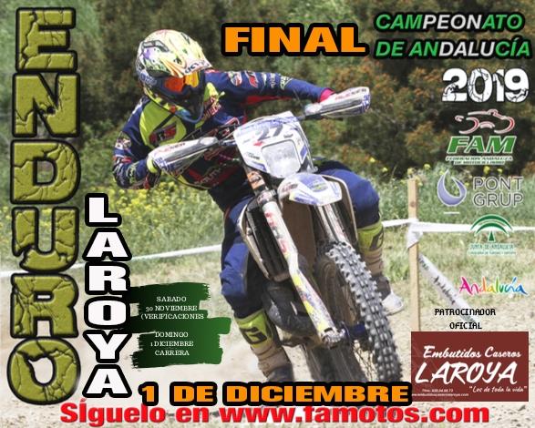 Laroya acoge la final del Campeonato de Andalucía de Enduro