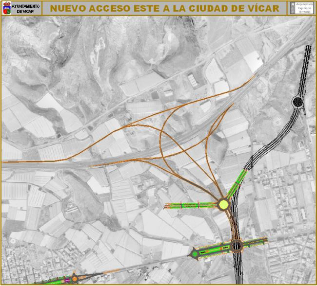 Satisfacción en Vícar Por La Adjudicación De La Redacción Del Proyecto Del Nuevo Acceso Con La Autovía