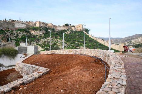 Recta final para la mejora del entorno de la Alcazaba