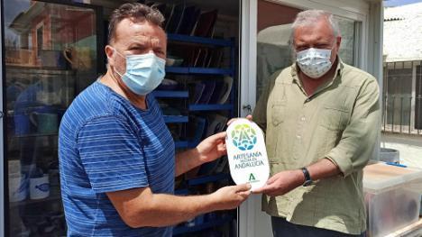72 artesanos de Almería reciben el distintivo 'Artesanía hecha en Andalucía'