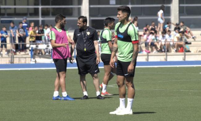 El Almería reanuda los entrenamientos centrado ya en el Mallorca