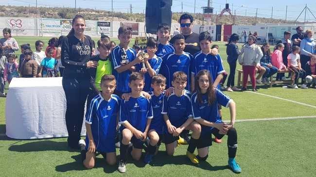 El Colegio Álvarez de Sotomayor gana el Torneo Escolar de Fútbol
