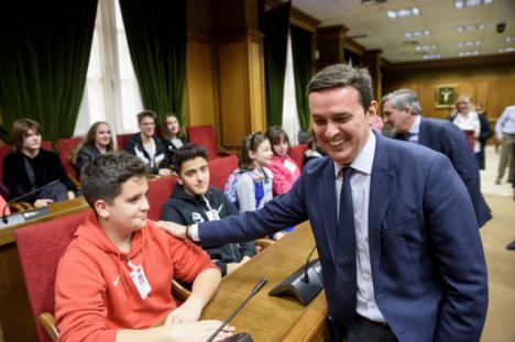 Diputación recibe a los alumnos internacionales del Proyecto Erasmus + 'Swot Scouts'