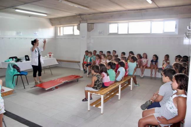 Recta final del VI Campus Deportivo Bilingüe 'Ciudad De Vícar'