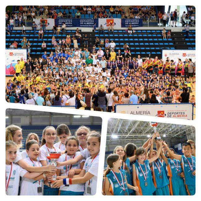 2.000 participantes se reúnen en los Juegos Deportivos de baloncesto