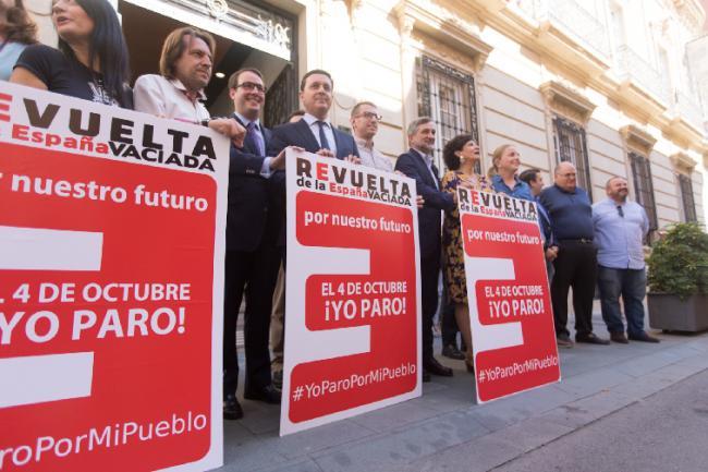 Diputación se suma a la 'Revuelta' de la 'España vaciada'