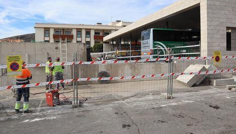 Arrancan la reforma de la Estación de Autobuses de Berja
