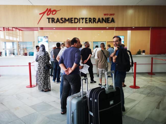 El puerto de Almería inicia 2019 entre los diez con más tráfico de pasajeros