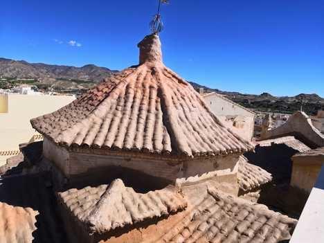El Ayuntamiento de Cuevas acomete obras de urgencia en la Iglesia de San Antón
