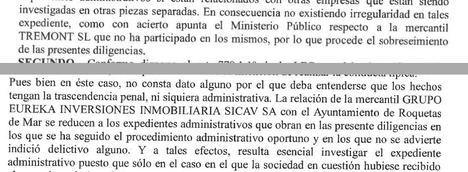 Archivadas las diligencias abiertas contra Gabriel Amat en dos procedimientos denunciados por el PSOE