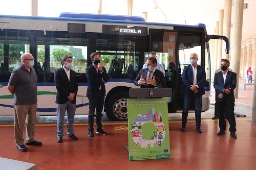 88 expendedoras de billetes instaladas por el Consorcio de Transporte