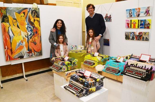 Lourdes Rubio invita a crear historias en una exposición en El Faro
