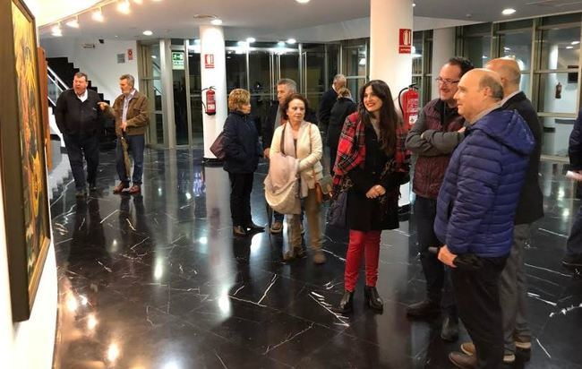 Antonio Jesús Rojas expone en el Teatro Villa de Huércal-Overa