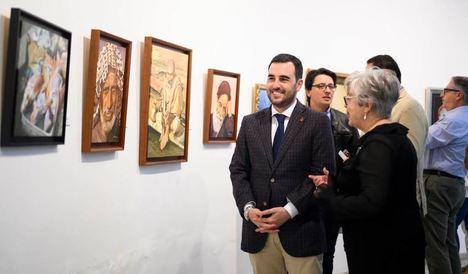 Mari Trini Callejón comparte sus obras en la sala Jesús de Perceval