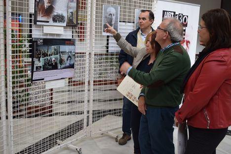 La exposición sobre los 130 años de UGT llega a Vícar