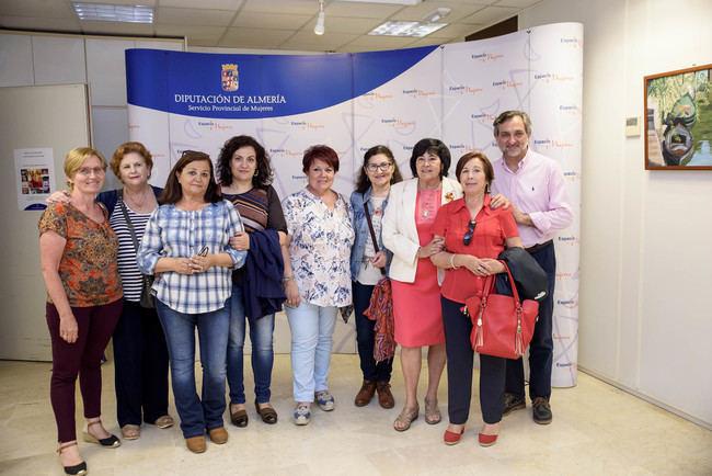 El Espacio de Mujeres se llena de color con los paisajes de Almería y Asturias