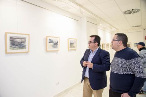 Las 'Brumas Cruzadas' de Juan Antonio Maldonado en la Galería Alfareros