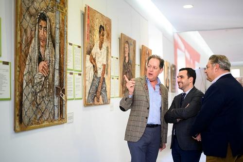 'Frágiles', una exposición que trasciende al propio arte en el CIP