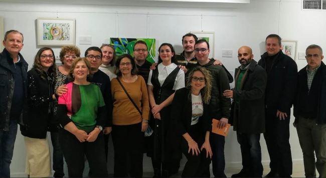 El IAJ inaugura una exposición de la artista con Asperger Ana López Jiménez