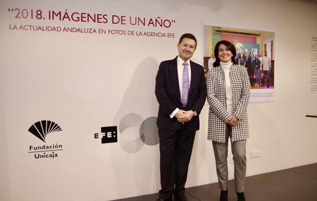 Unicaja de Almería acoge la exposición '2018. Imágenes de un año' de EFE