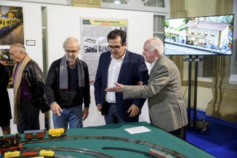 Los 'Trenes a Escala' de ASAFAL llega a la Diputación
