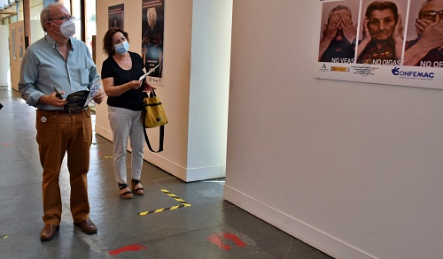 La Exposición Sobre La Toma De Conciencia Del Abuso Y Maltrato En La Vejez, Llega A La Gangosa