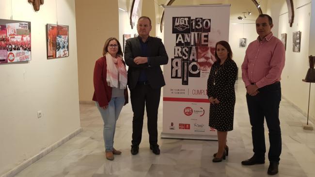 UGT Almería expone sus 130 años de historia en Cuevas del Almanzora