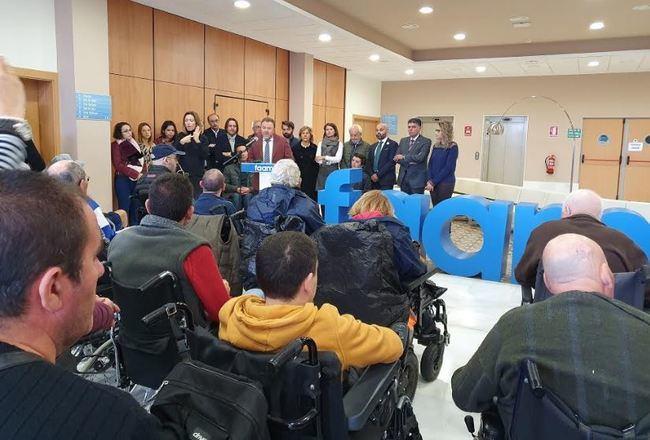 Compromiso del Ayuntamiento con la inclusión en el Día de la Discapacidad de la FAAM