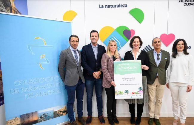 Farmacéuticos se suma a Almería 2019 con unas jornadas sobre alimentación saludable