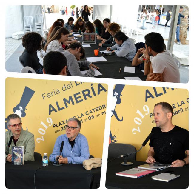 La Feria del Libro de Almería llega a su ecuador