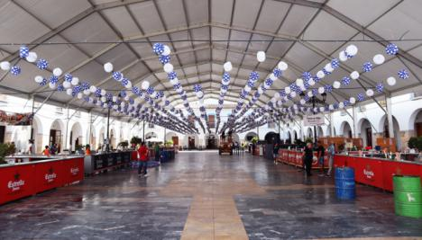 La Feria del Mediodía de Berja arranca en la Plaza Porticada