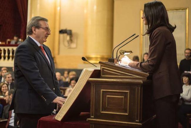 Fernando Martínez e Inés Plaza ya son senadores