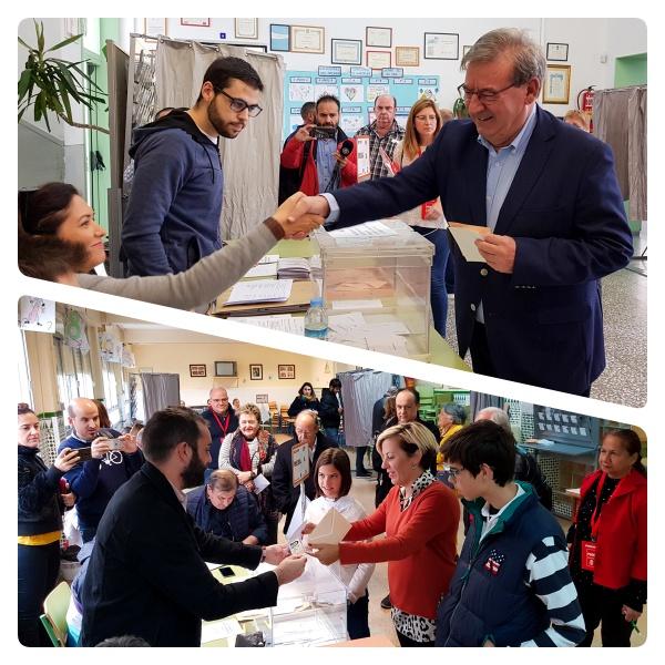Fernando Martínez (PSOE) anima a votar concentrando el voto