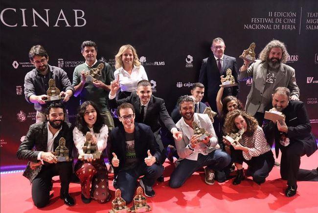 Los premios Fuente del Oro ponen el broche al Festival de Cine Nacional de Berja