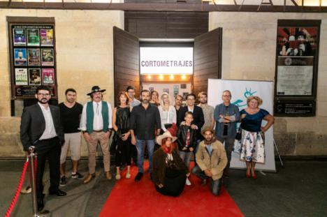 El público se vuelca con la primera sesión del 'Almería Tierra de Cortometrajes'