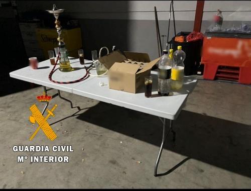 Desmantelan una fiesta clandestina en Benahadux con 34 personas sin prevención por #COVID19