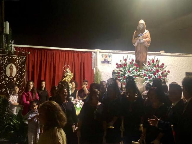 Peñarrodada honra a San Francisco de Asís del 4 al 6 de octubre