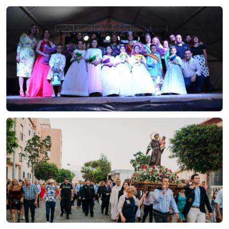 Cortijos de Marín despide las fiestas con la tradicional procesión