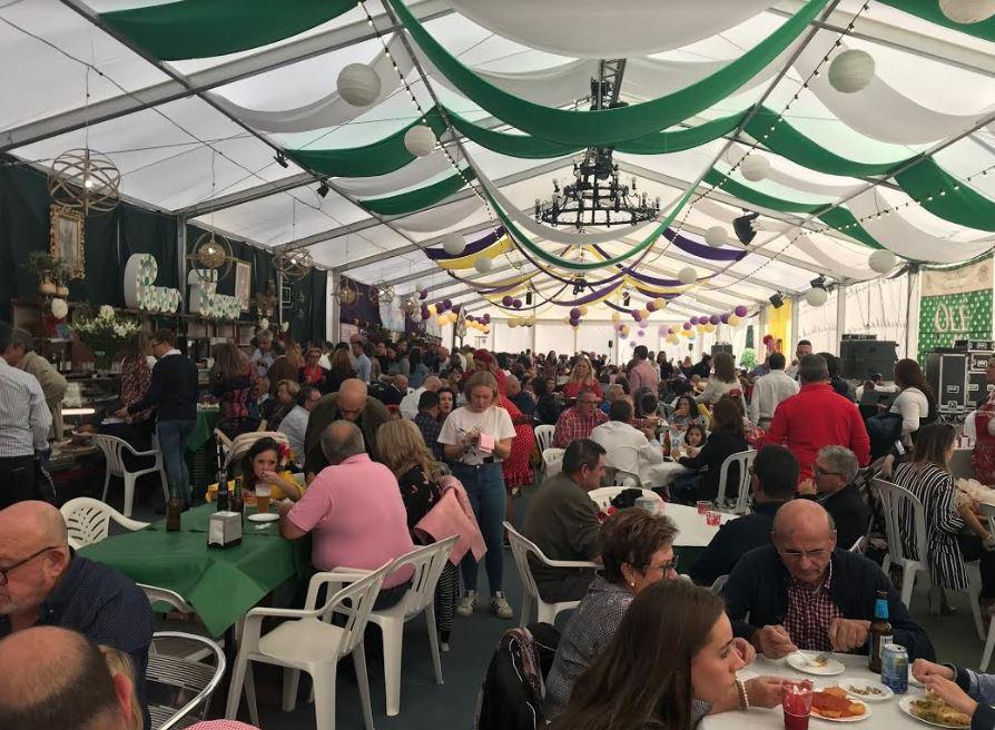Gran ambiente en las Fiestas de San Diego de Cuevas - Noticias de Almería