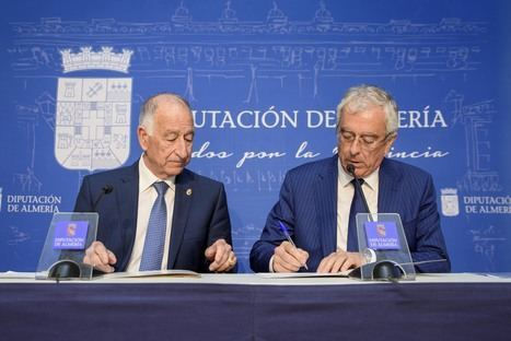 Diputación y ASEMPAL promueven un proyecto para producir agua desalada con energía eólica y solar